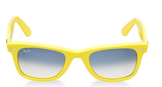 Ray Ban Yellow Lens Shooting Glasses